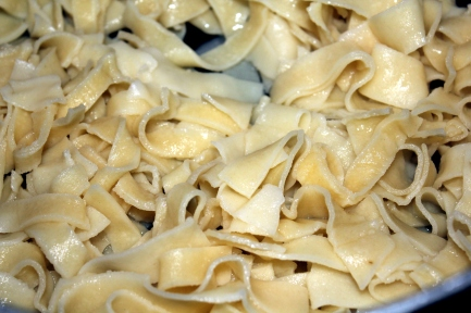 Homemade Wide Egg Noodles
