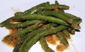 String Beans with Breadcrumbs